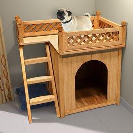 Hundebett Holz